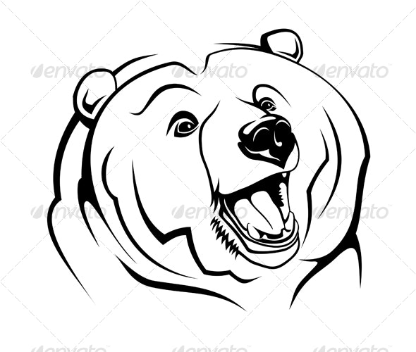 Wild grizzly - Animals Characters