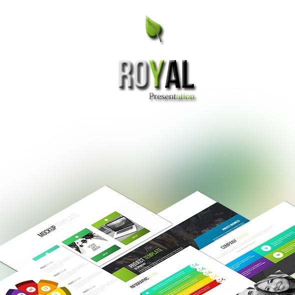 ROYAL - Powerpoint Pitch Deck Templates