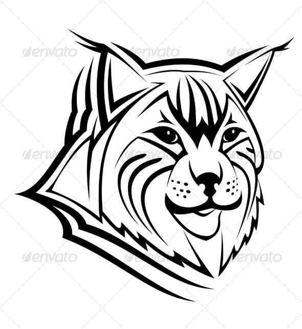 Head of lynx - Animals Characters