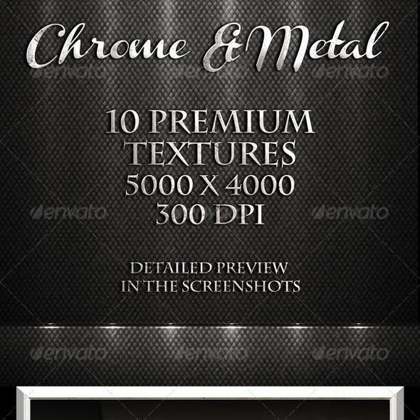 Chrome & Metal Textures