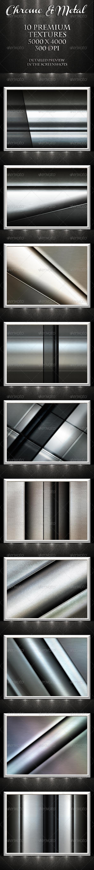 Chrome & Metal Textures - Metal Textures