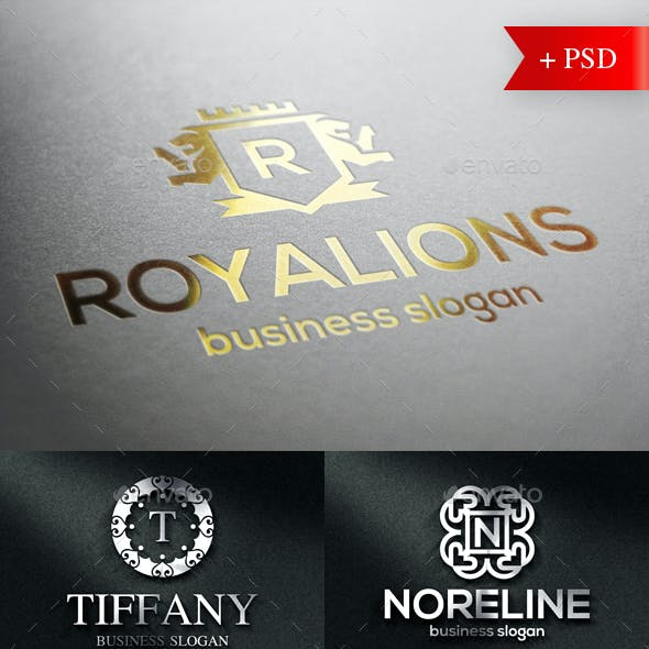 Crest Badge Boutique Luxury Logo Emblems