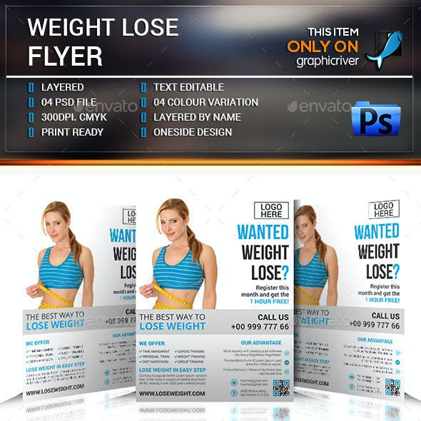 Weight Lose Flyer