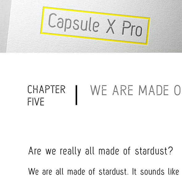 Capsule X Pro Font - Medium