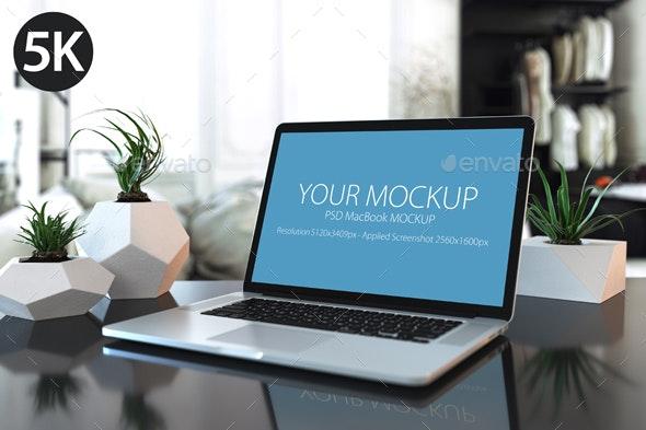 Mockup Mac_5k - Product Mock-Ups Graphics
