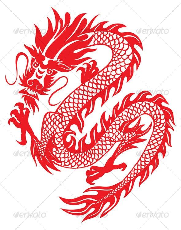 dragon - Animals Characters