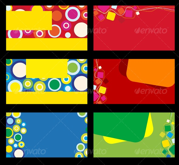 Colorful backgrounds for design cards and banners - Backgrounds Decorative