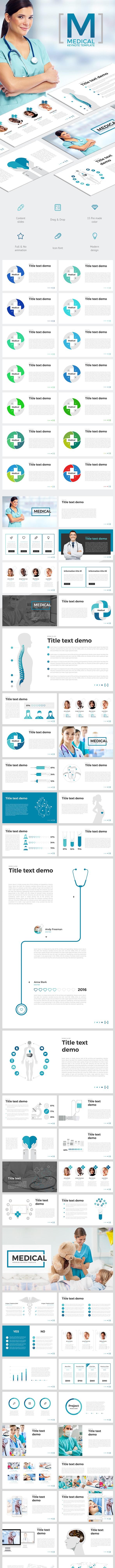 Medical - Keynote Templates Presentation Templates
