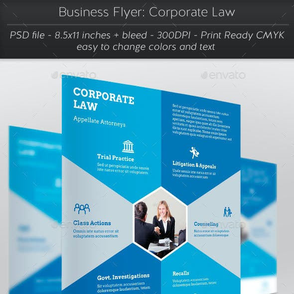 Business Flyer: Corporate Law