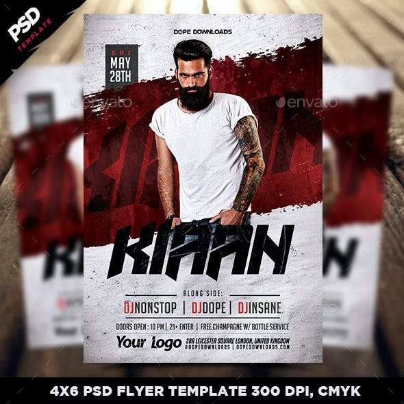 Nightclub Dj Flyer Template