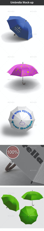 Umbrella Mock-up - Miscellaneous Illustrations