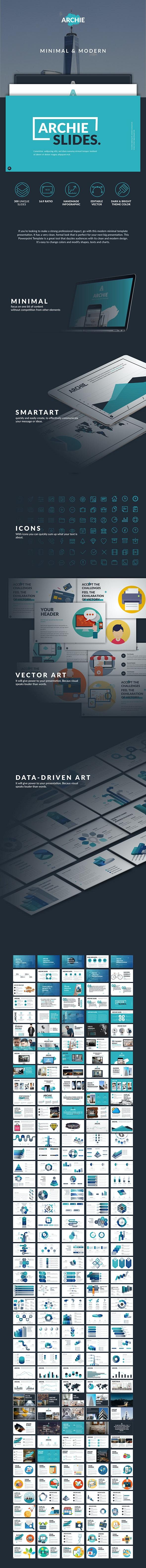Archie Creative Slides - Creative PowerPoint Templates