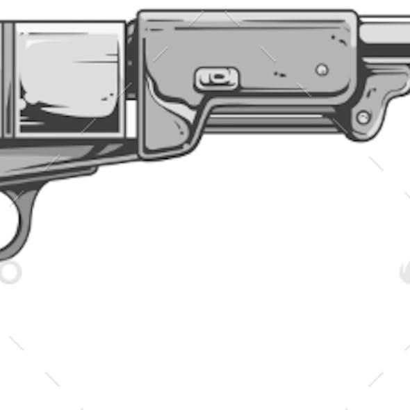 Revolver Colt Walker
