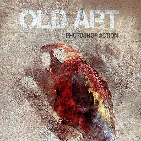 Old Art - Photoshop Action
