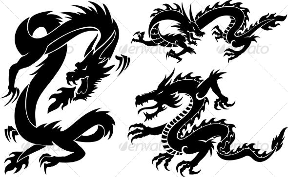 dragons - Animals Characters
