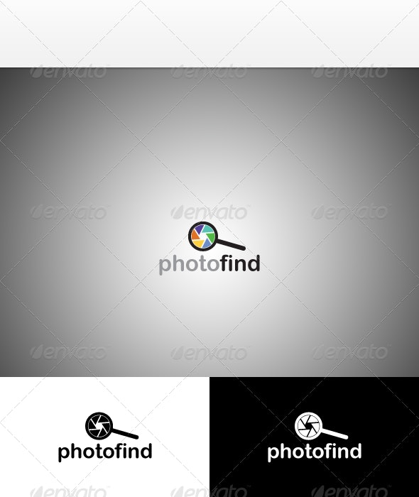 Photography Business / Photographer Logo Template - Objects Logo Templates