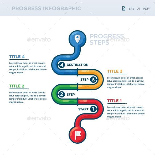 Progress Infographic - Infographics