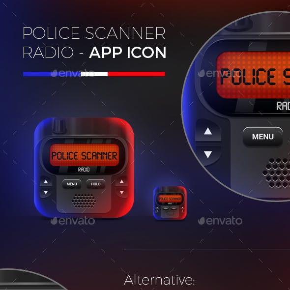 Police Scanner Radio App Icon