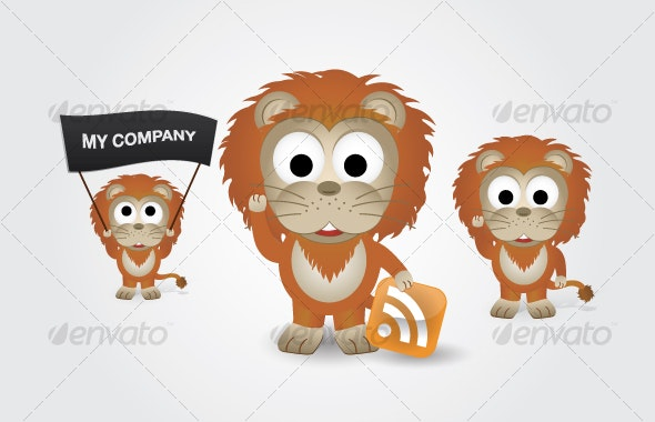 Lion - Animals Characters