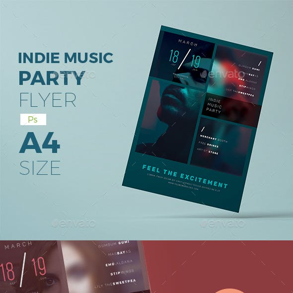 Indie Concert Flyer v.2