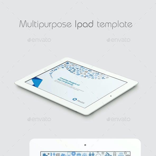 Multipurpose iPad Template