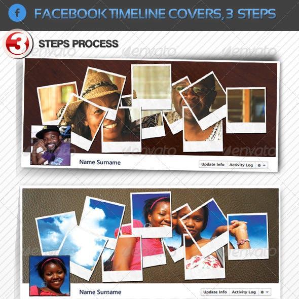 Facebook Timeline Cover in 3 Steps