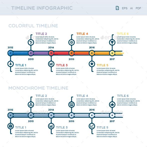 Timeline Inforgraphic - Infographics