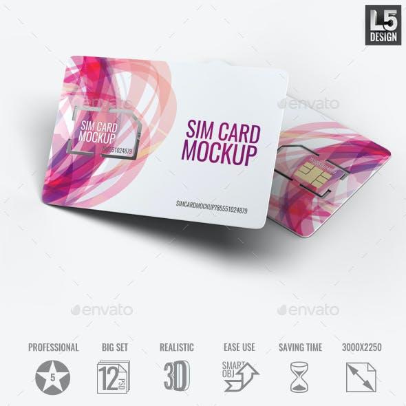 Sim Card Mock-Up
