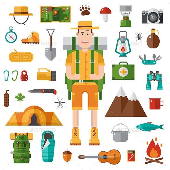 Hiking and Camping Set