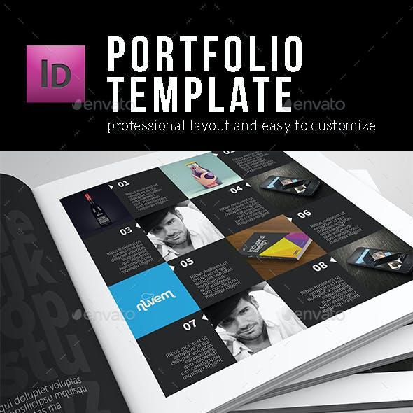 Portfolio Template - Square