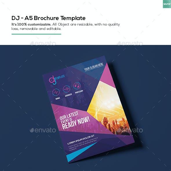 DJ/ A5 Brochure Template