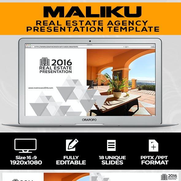 Maliku ~ Real Estate Presentation