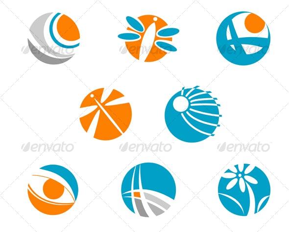 Set of symbols - Decorative Vectors