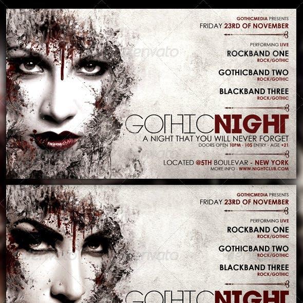 Rock Party Flyer
