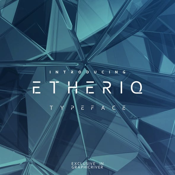 Etheriq Typeface