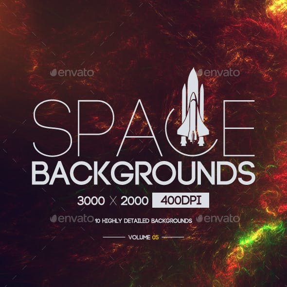 Space Backgrounds [Vol.5]