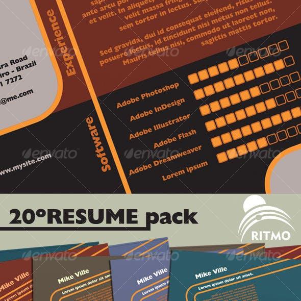 20º Resume Pack