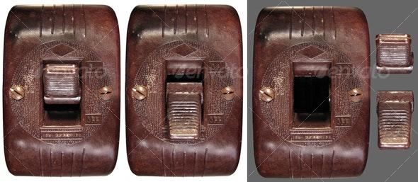 Old Bakelite Switch