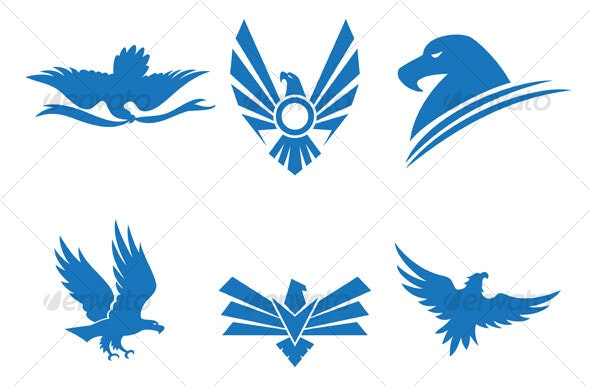 eagle designs - Animals Characters