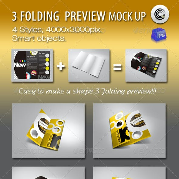 Shape 3 Folding Preview Mock-ups