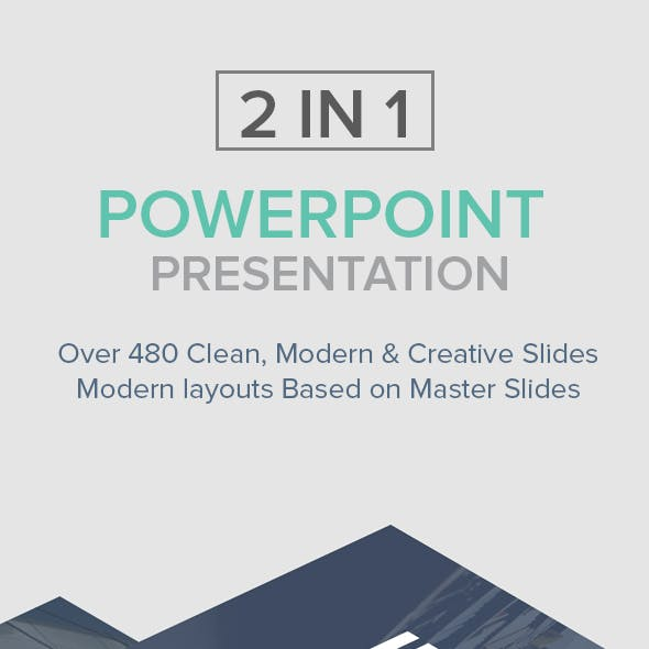 2 in 1 Powerpoint Presentation Bundle