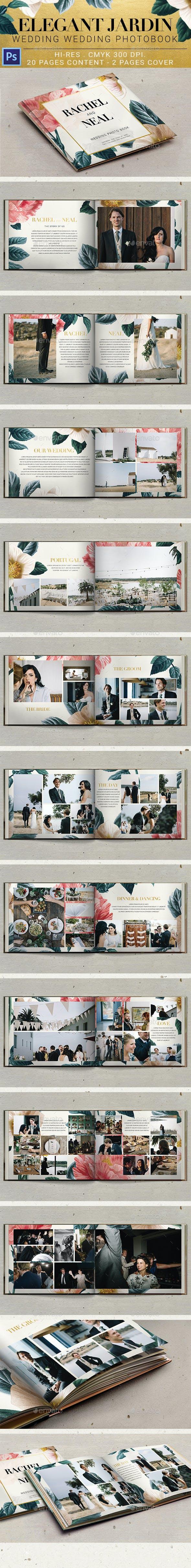 Elegant Jardin Wedding Photobook
