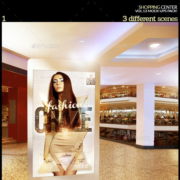 Shopping Center Vol.13 Mock-Ups Pack