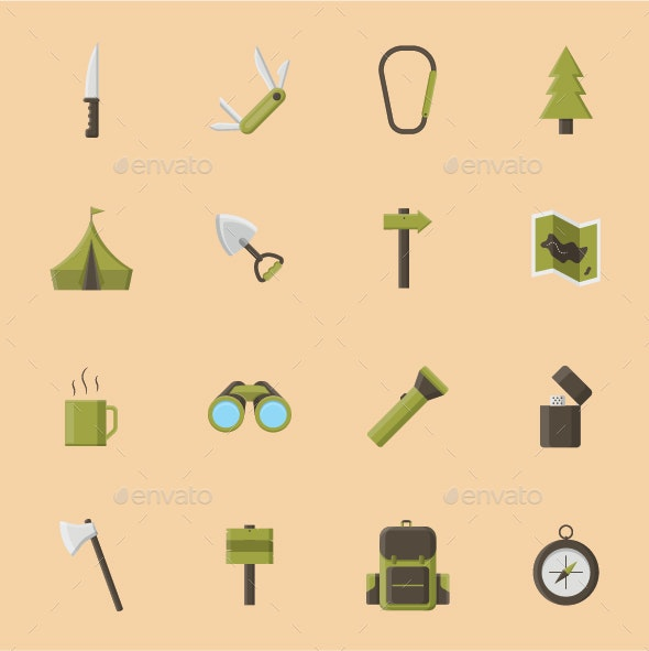 Camping Icon - Objects Icons