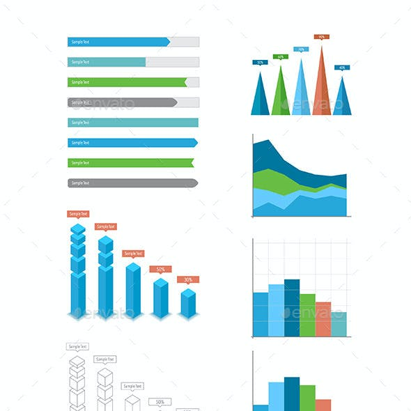 Set of Infographic Design Elements