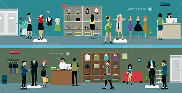 Clothing Store - Retail Commercial / Shopping