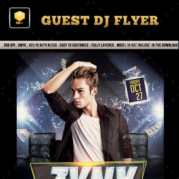 Guest DJ Flyer....