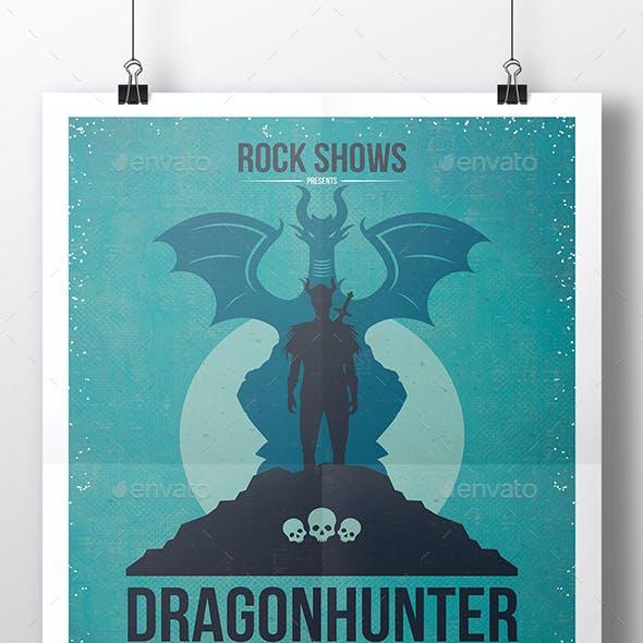 Dragon Hunter Flyer Template