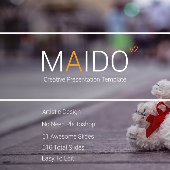 Maido V2 - Creative Presentation Template
