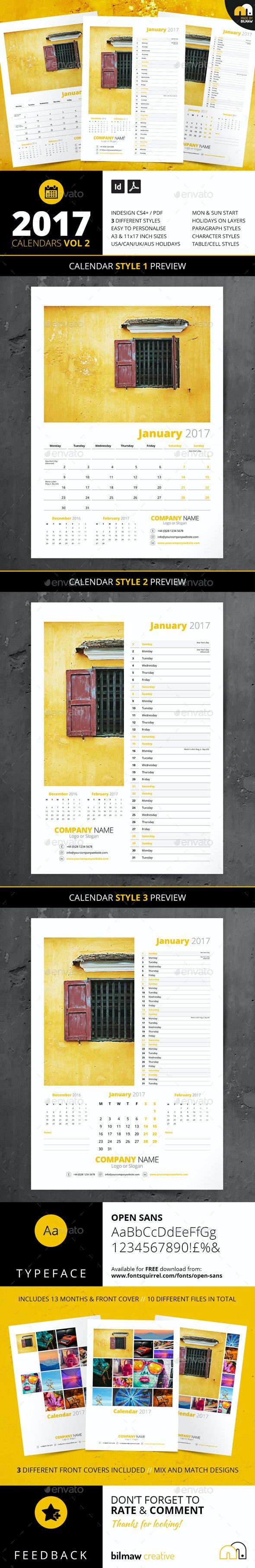 Calendars Vol 2 - Calendars Stationery